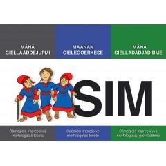 SIM : Máná giellaáddejupmi - Maanan gielagoerkse - Máná gielladádjaibme