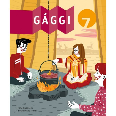 Gággi 7 - oahppogirji